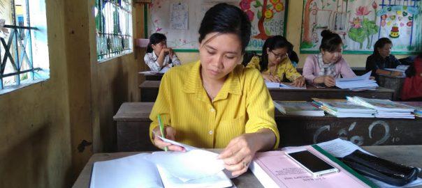 Cô Nguyễn Thị Mỹ Hạnh , hiệu phó nhà trường
